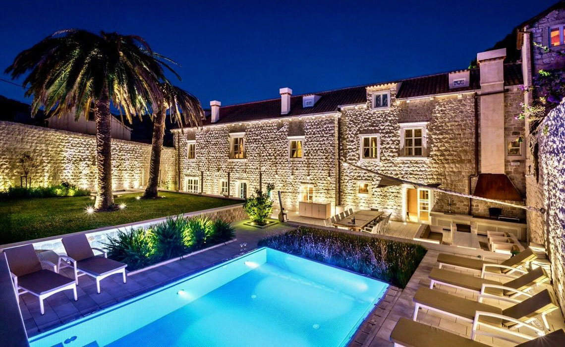Dubrovnik Stone Castle Luxury Villa With Pool