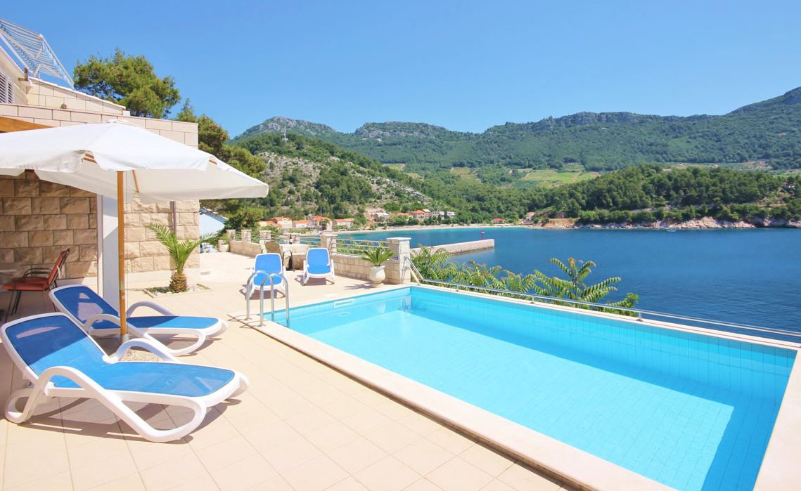 Villa Sea House Luxury Pool Villa Near Dubrovnik To Rent